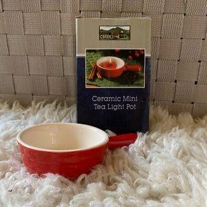 Mini Tea Light Pot